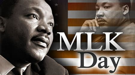 Jan. 21:  MLK Day of Service