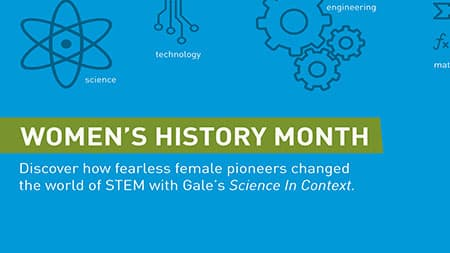 Gale Science in Context: Women in STEM